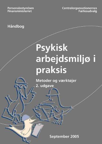 Psykisk arbejdsmiljø i praksis - Samarbejdssekretariatet