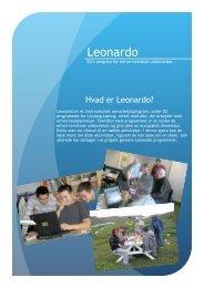 Pjece om Leonardo programmet