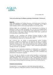 22-01-2013-Bilag 13.01 Notat fra AquaDjurs - Norddjurs Kommune