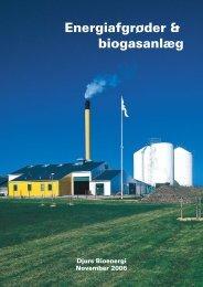 Pjecen om energiafgrøder og biogas - Djurs Bioenergi