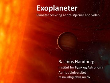 Exoplaneter - UNF Aalborg