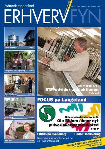 FOCUS på Langeland - Velkommen til Erhverv Fyn