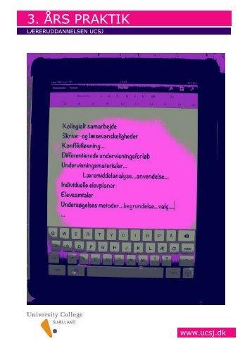 Skift farver - pink/violet