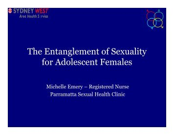 The Entanglement of Sexuality for Adolescent Females - Australian ...