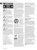 pro mixer nox202/nox303/nox404/nox606/nox1010 - Strumenti ... - Page 2