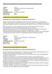 Nummer: 47523 Titel: Modtagelse og ... - Danske Vaskerier