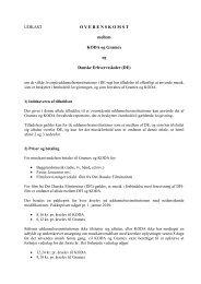 KODA og Gramex - Danske Erhvervsskoler