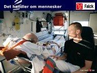 Den moderne ambulancetjeneste - ……og telemedicin ... - DMTS