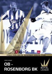 OB - Rosenborg BK - Royal League