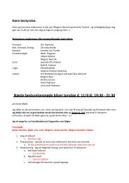 Mødeindkaldelse bestyrelsesmøde torsdag d. 11. april 2013 - referat ...