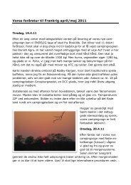 Vores forårstur til Frankrig april/maj 2011 - Campinginfo.nu
