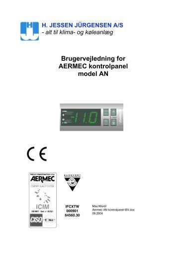 AN kontrolpanel-BV