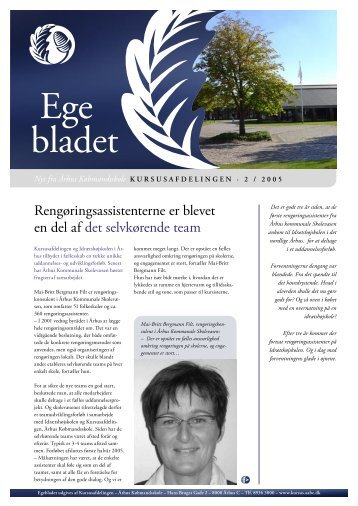 Egebladet nr. 2, 2005 - Århus Købmandsskole