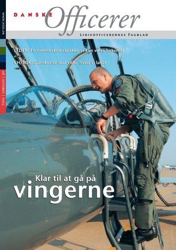 DO nr. 08.05 #korr 3 - Hovedorganisationen af Officerer i Danmark