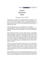 Steen Ole Rasmussen: uge 5, 2012 - Arbejdsforskning