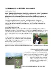 Temadag om økologisk sædskifte - ICROFS