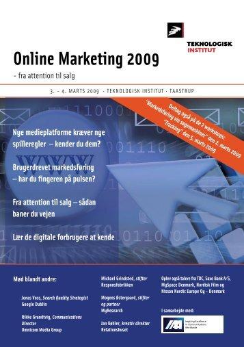 Online Marketing 2009 - IAA