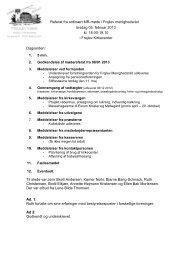 Referat af menighedsrådsmøde februar 2013 - soenderholm-frejlev.dk