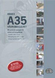 A35 - ARDEX Danmark