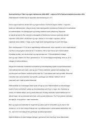 """Sammenfatning af """"Børn og unges måltidsvaner 2005-2008 ..."""