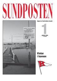 Vinter i havnen - Sejlklubben Sundet