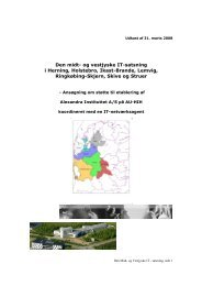 Ansøgning fra Alexandra Instituttet.pdf - Ringkøbing-Skjern Kommune