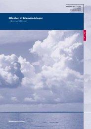 Effekter af klimaændringer - Region Nordjylland