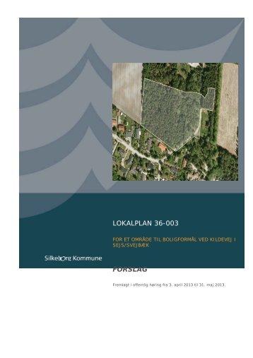 Udskriv denne plan - Lokalplan - Silkeborg