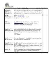 E-mail - Huskesedler Side 1 af 4 – Marts 2007 OPRET ... - BibTeach