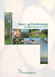 Natur- og friluftsstrategi 2012 - Norddjurs Kommune