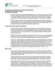 Användning av beteckningar som hänvisar till finskhet på ... - Valvira.fi