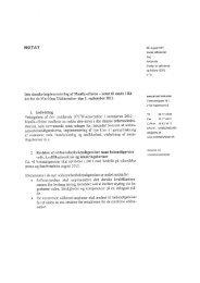 Den danske implementering af Manila-aftalen - notat til møde i rådet ...
