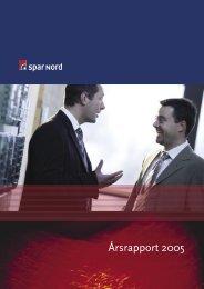 Årsrapport 2005 (PDF) - Spar Nord