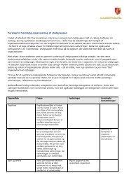 Forslag til fremtidig organisering af chefgruppen - Guldborgsund ...