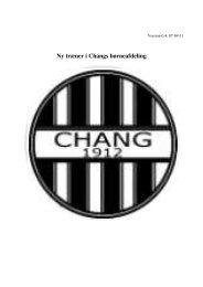 Link til trænerhåndbog - Aalborg Chang