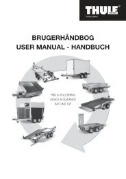 brugerhåndbog user manual - handbuch - Nesbru Trailer Service