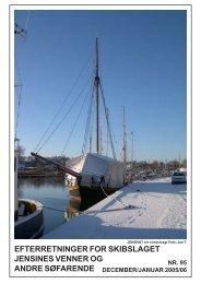 Efterretninger nr. 95, januar 2006 - Jensine af Haderslev