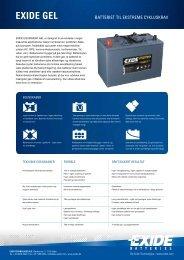 LÆS MERE (PDF) - Exides batterier