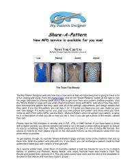 Download - My Pattern Designer