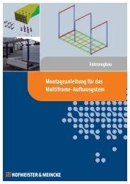 Montageanleitung für das Multiframe-Aufbausystem - HOF-MEI-KO