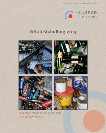 Affaldshåndbog 2013 - Hillerød Forsyning