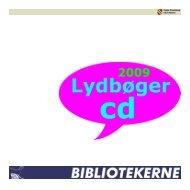 Lydbøger på cd - 2009
