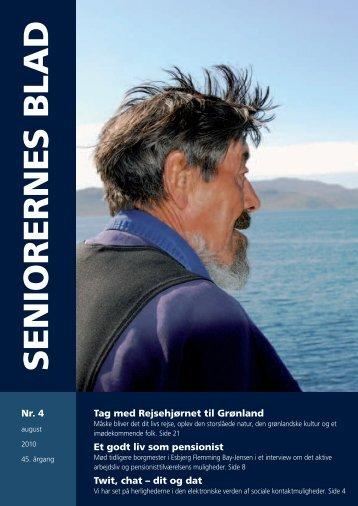 Seniorernes Blad 4 - 2010 - Pensionisternes Samvirke