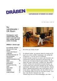 Ny vandskade i DR Byen - Seniorklubben for nuværende og ...