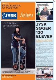 JYSK SØGER 120 ELEVER