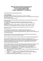 Referat af ekstraordinær generalforsamling i Skovlunde og Herlev ...
