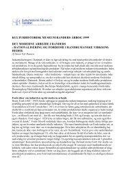 kulturhistorisk museum randers årbog 1999 det moderne arbejde i ...