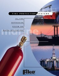 CO2 Fire Suppression System for Marine Applications