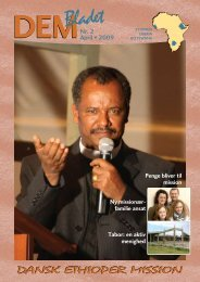 Nr. 2 - Dansk Ethioper Mission