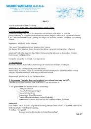 Referat af generalforsamling 2008 - Solrød Vandværk